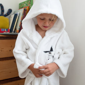Kid's Fluffy Dressing Gown
