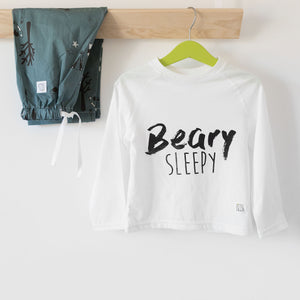 Petrol blue Woodland  Sleepy Pyjama Set, unisex