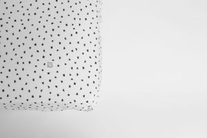 Star Print Fitted Sheet, Ingrid Petrie for Little Jagger