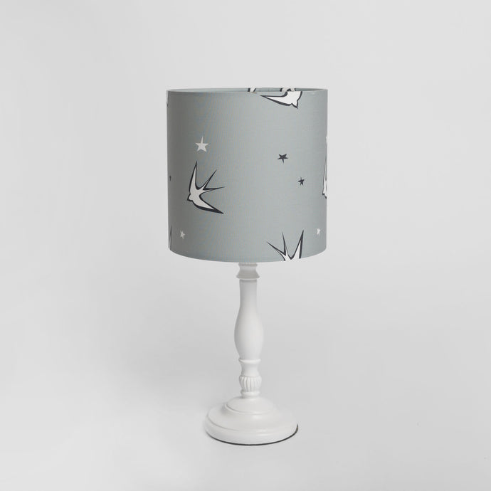 Swallow Print Lampshade, Ingrid Petrie for Little Jagger