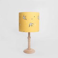Load image into Gallery viewer, Yellow Swallow Print Lampshade