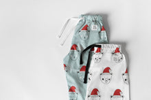 Load image into Gallery viewer, Blue Christmas Beary Sleepy Pyjama Set, unisex
