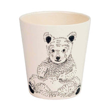 Load image into Gallery viewer, Bear Bamboo Tableware Box Set