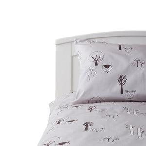 PRE ORDER Woodland Bedding with fawn and raccoon