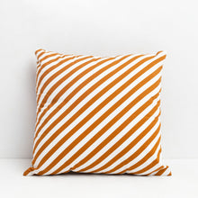 Load image into Gallery viewer, Diagonal Stripe Print Cushion