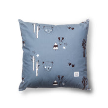 Load image into Gallery viewer, Petrol Woodland Cushion