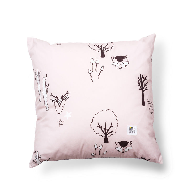 Pink Woodland Cushion