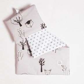 Woodland Doll's Bedding