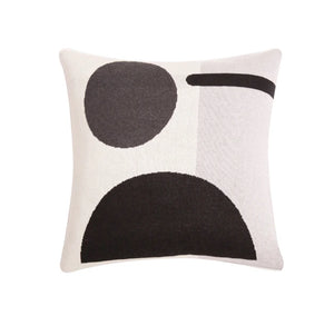 Bleecher Black Cushion Cover
