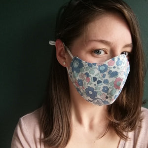 Floral Face Cover, non medical grade