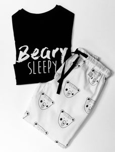 Beary Sleepy Pyjama Set, unisex