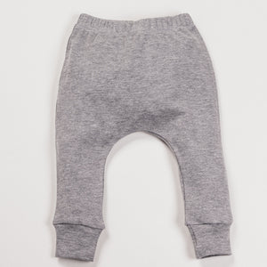 Grey Marl Harem Pants