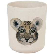 Load image into Gallery viewer, Leopard & Lion Bamboo cup - Nuukk