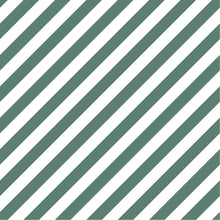 Load image into Gallery viewer, Diagonal Stripe Fitted Sheet