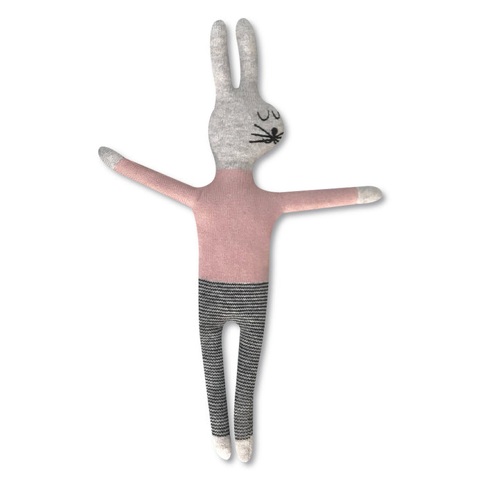 Pink Rabbit Soft Toy
