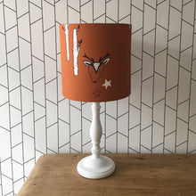 Load image into Gallery viewer, Rust Woodland Pendant Lampshade