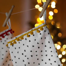 Load image into Gallery viewer, Personalised Star Christmas Stocking