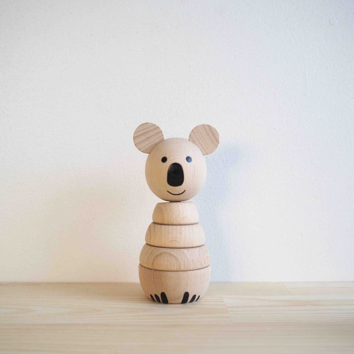 Wooden Koala Stacker