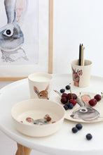 Load image into Gallery viewer, Bunny & Friends Bamboo Tableware Box Set