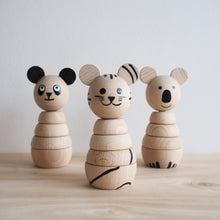 Load image into Gallery viewer, Wooden Koala Stacker
