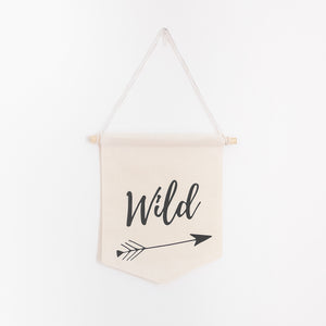 Wild Pennant Banner - 100% natural cotton