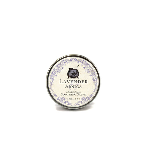 Three Sisters Apothecary- Lavender & Arnica Soothing Salve
