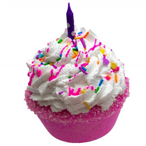 Happy Birthday Cake Bath Bomb