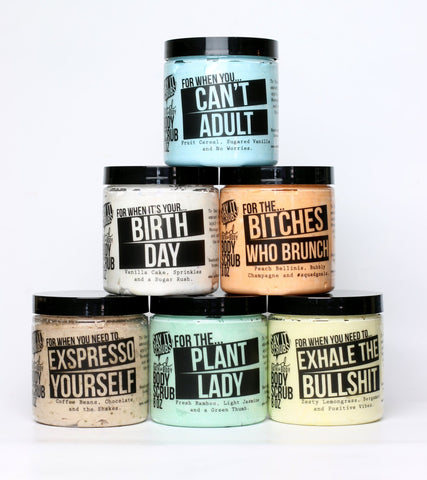 Mod Bath & Body-  Whipped Sugar Scrubs