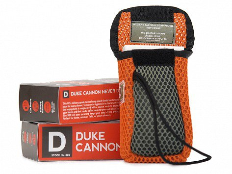 Duke Cannon - Tactical Soap on a Rope Scrubbing Pouch