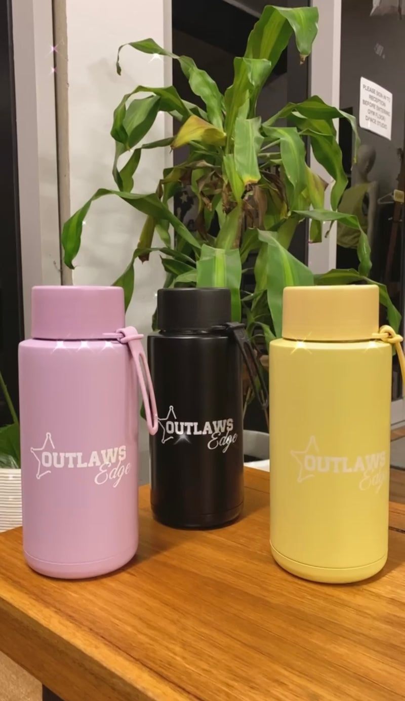 Frank Green X Outlaws Edge 1L Ceramic Water Bottle