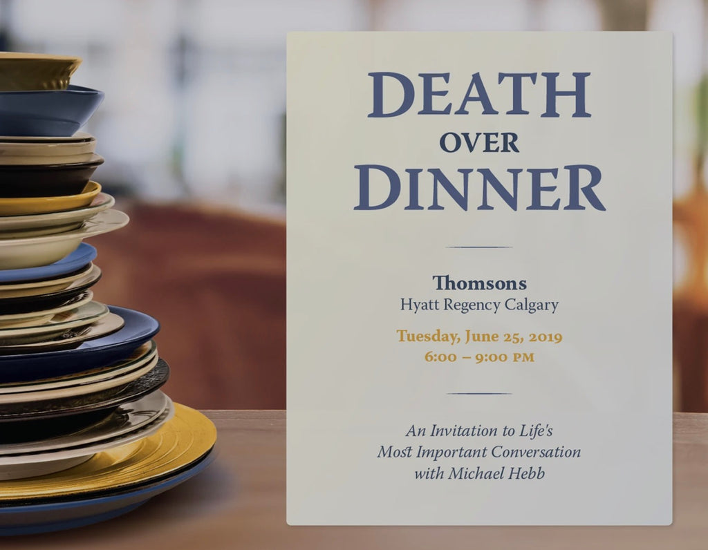 Upcoming Event - Death Over Dinner Calgary