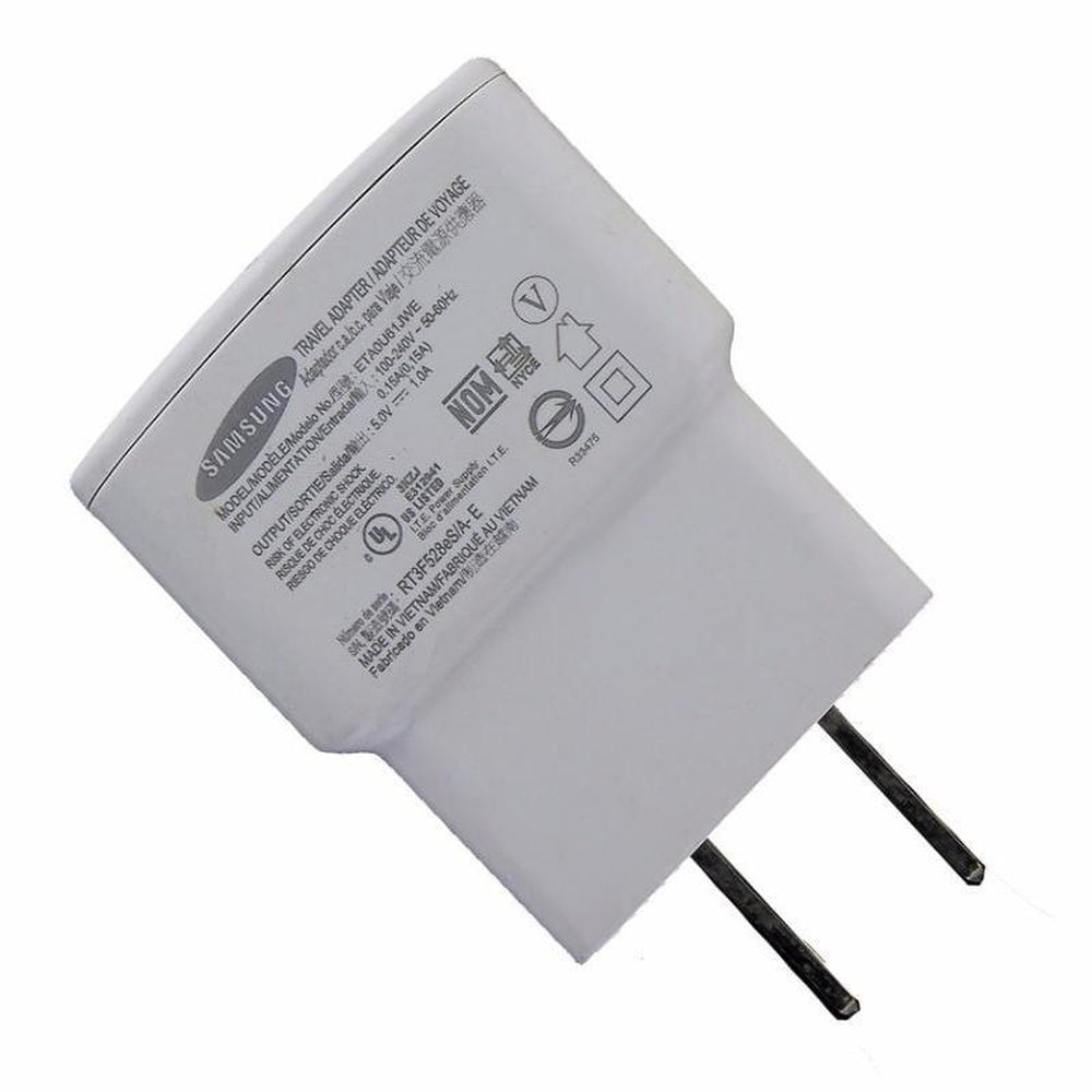 USB Power Adapter AC Home Wall Charger For Samsung 5.0V 1.0A (no Cable)
