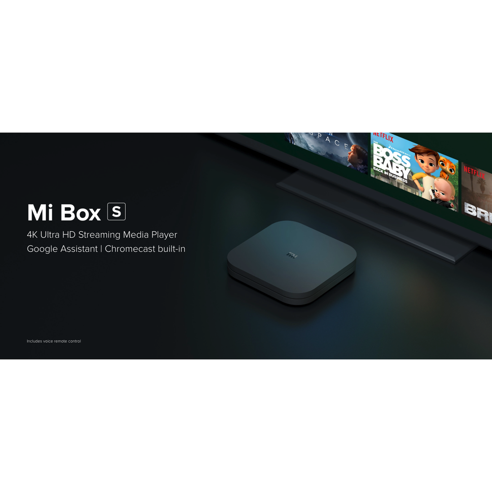 Xiaomi Mi 4K TV TOP Box 8GB HDR Streamer Media Player