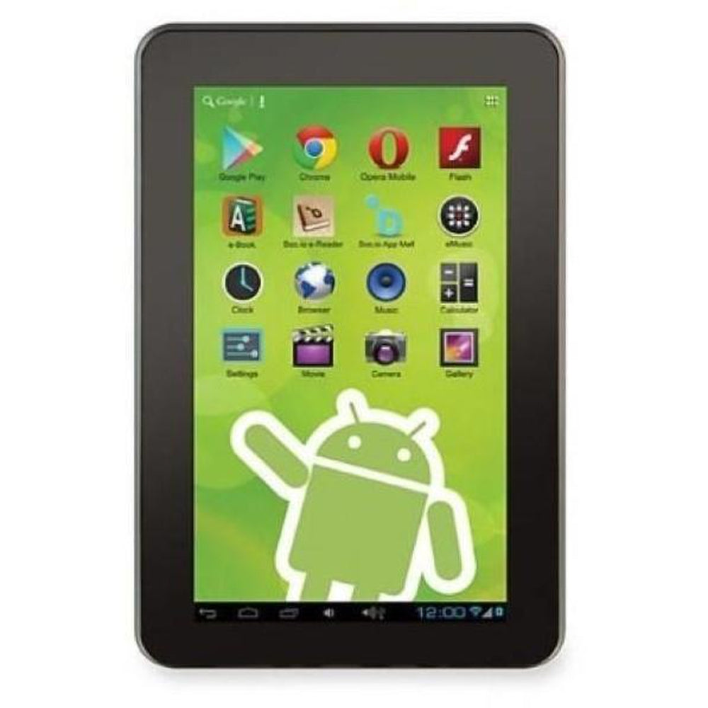 Zeki TBDG773B 7-in. Dual Core Tablet with Google Play - NEW