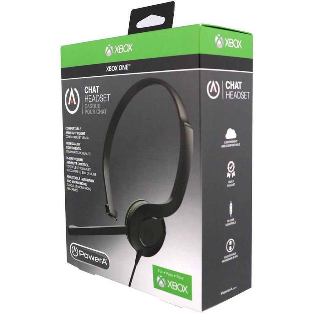 PowerA Official Xbox One S Chat Headset Gaming Microphone Mute Control