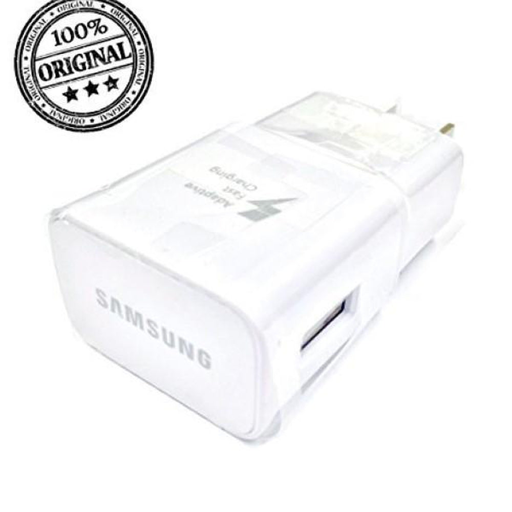 Genuine OEM Samsung Adaptive Fast Charging White Charger EPTA20JWE EP-TA20JWE (No Cable)