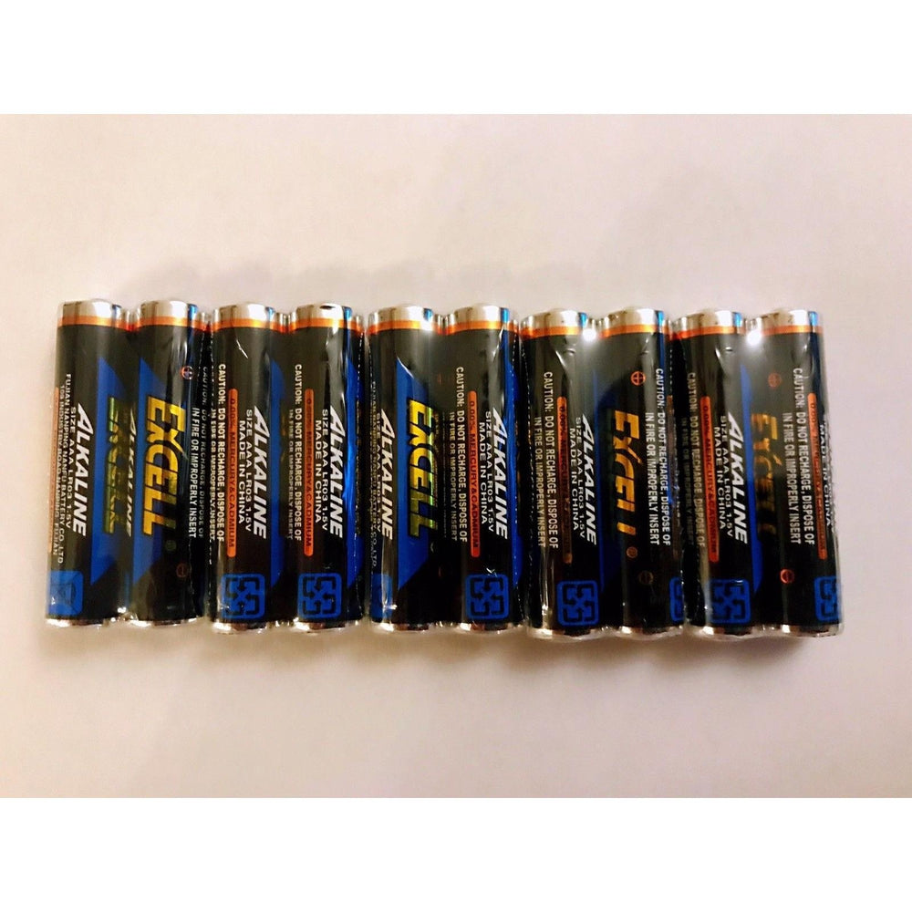 Excel AAA 1.5v super  Alkaline batteries Exp 2026 (36 pack)