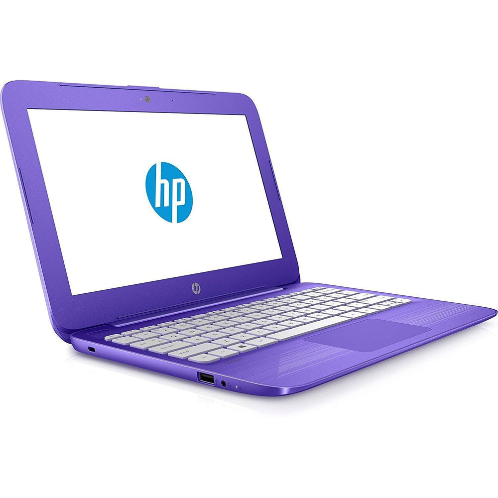 HP 11-y020wm Stream Notebook N3060 1.6GHz 4GB RAM 32GB HDD Windows10 - Purple