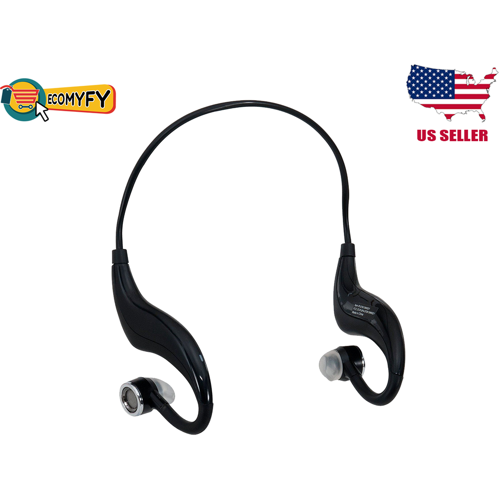 Straight Talk Stereo Bluetooth Ear Hooks Wireless Headphones