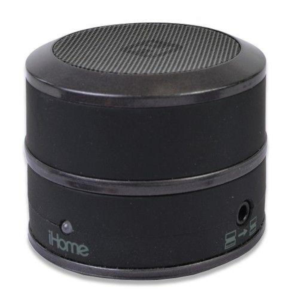 iHome Bluetooth Wireless Rechargable Speaker IBT60BY  Black