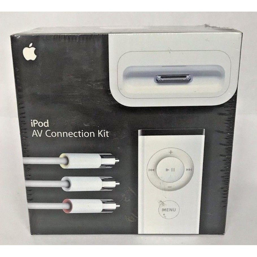 Lot of 10  Apple iPod AV Connection Kit With Apple Remote MA242LLC