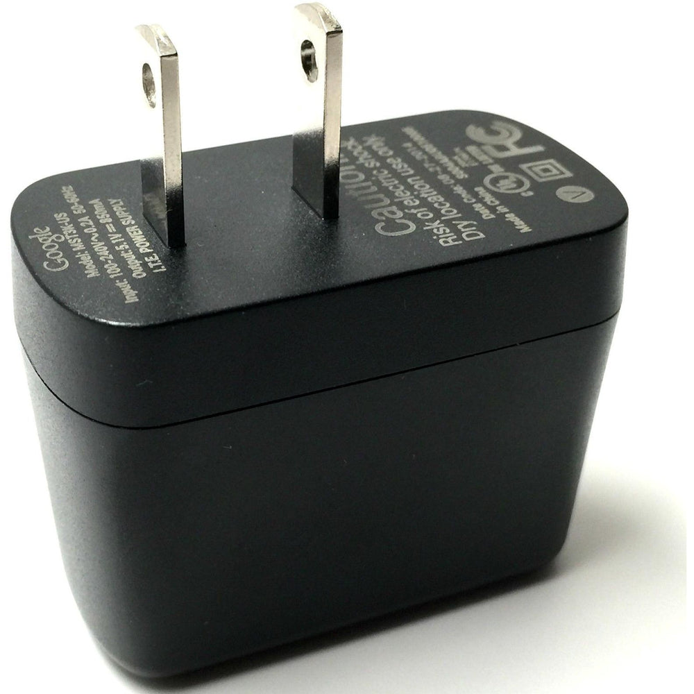Google Chromecast Power Adapter AC Home Wall Charger 5V 2.1A (no cable)