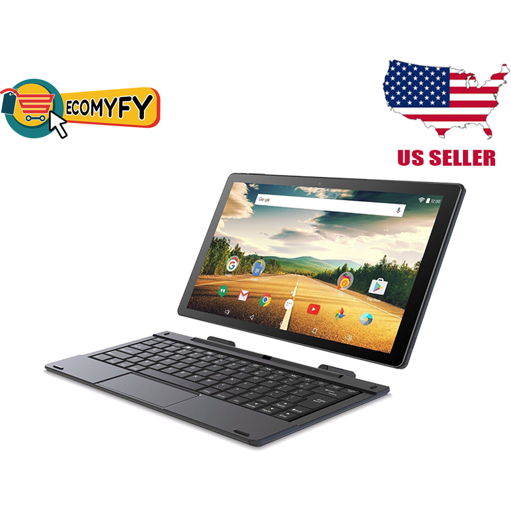 Smartab 2-in-1 Tablet Intel ST-1009X Black