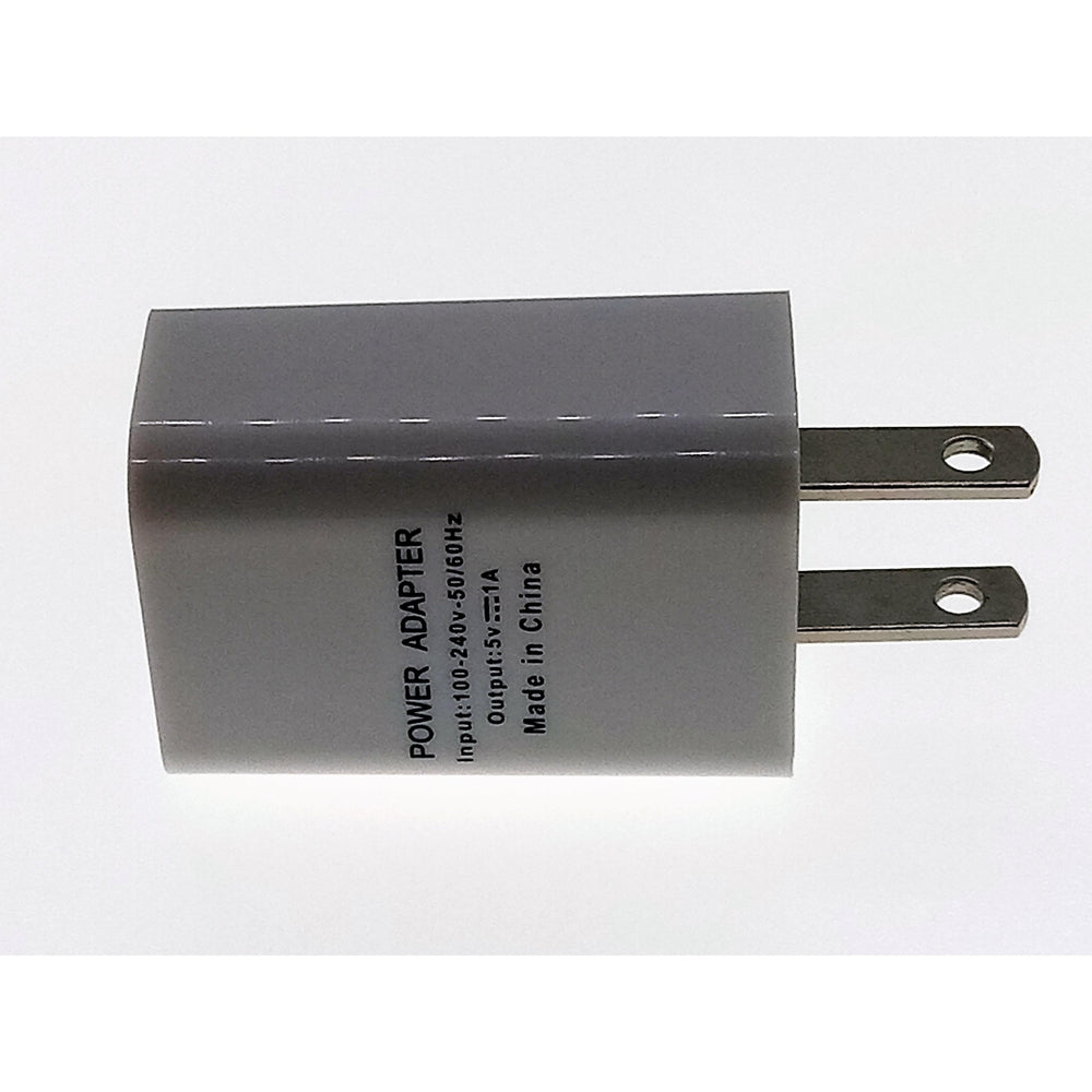 Universal Power Adapter AC Home Wall Charger 5V 1A (no Cable)