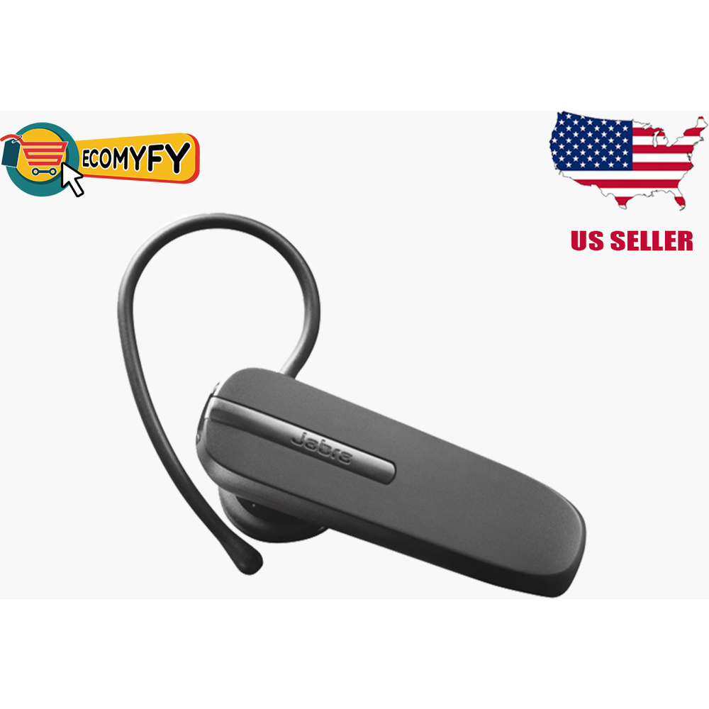 Jabra BT2046 Over the Ear Bluetooth Headset- Black