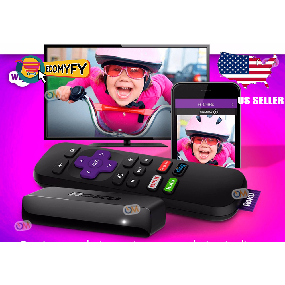 Roku Express+  HD Media Streamer 3910RW