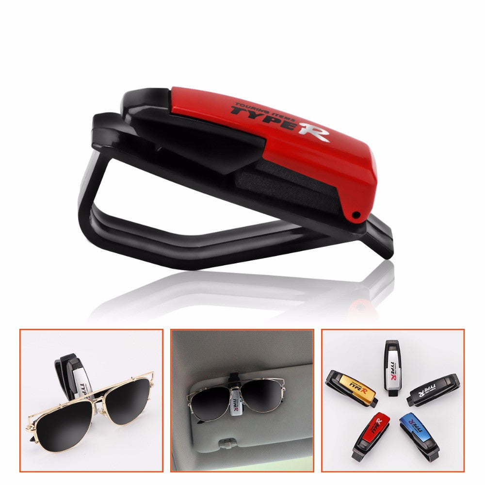 Car Glasses Clip Holder Clip Car Fastener Vehicle Sunglasses Ticket Receipt