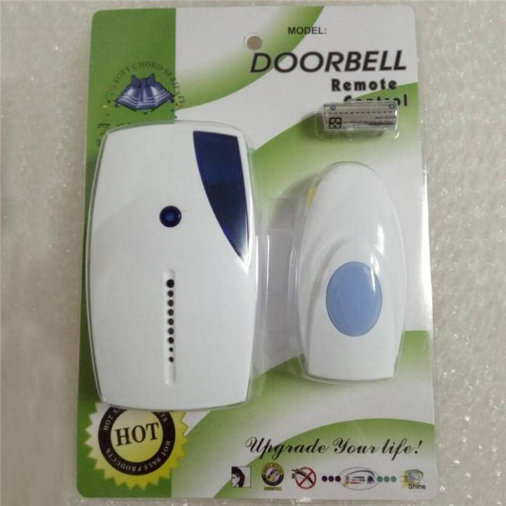 Smart Wireless Remote Control Doorbell Cordless 36 Chimes Door Bell LED Indicator for Home Security