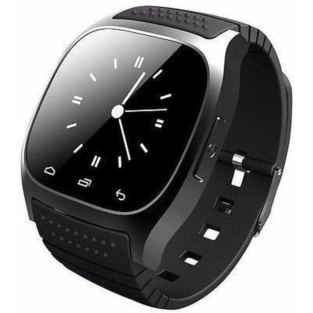 Smart Watch Android Phone with LED Display Music Player Pedometer Remote Camera Relojt
