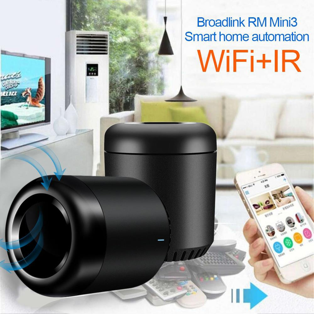 BroadLink New RM Mini3 IR Control Hub Smart Home Wi-Fi Enabled Infrared Universal Remote Control